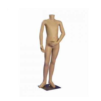 R1232 - Child's Headless Mannequin - Fleshtone - Age 10 1