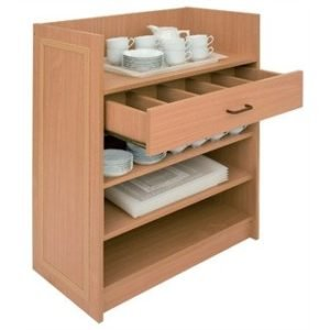 Bolero Dumbwaiter without Doors - Beech - CF110