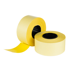 CT7 26x16mm Labels Yellow