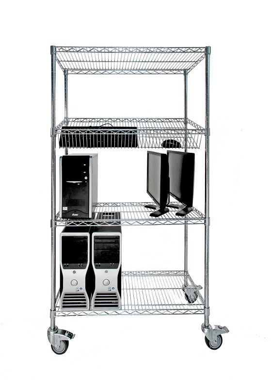 Buyers Guide - Chrome Shelving 1