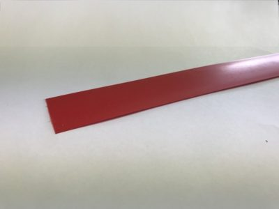 Ticket Rail Insert for 665mm Shelf Edge - L654mm - Red 1