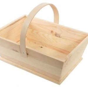 FB087 Oblong wooden trug large