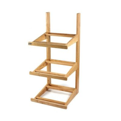 SP040 3 tier wood stand (stand only) 1