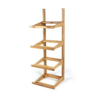 SP050 4 tier wood stand (stand only) 1