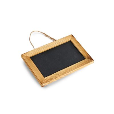 SP151 Pack of 5 medium chalkboard with string