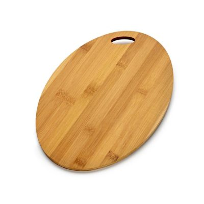 SP229 Oval shaped bamboo board