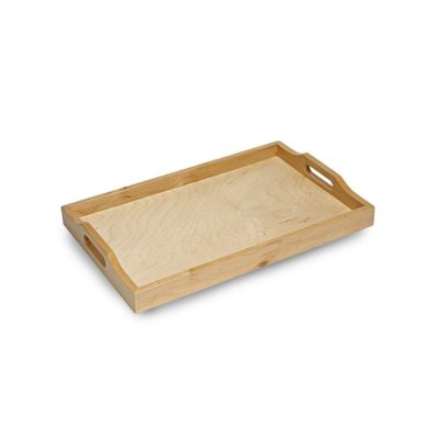 SP287 Small wooden serving tray 1