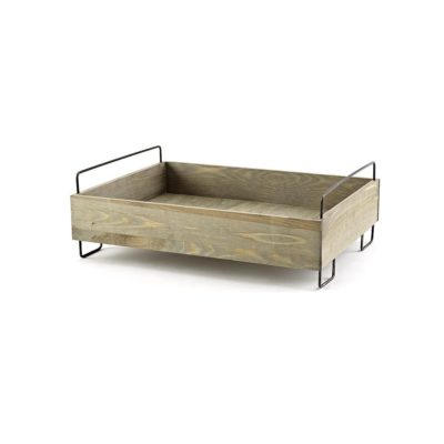 SP322 Display Crate with Metal Legs