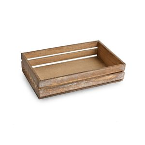 TR225 Large Dark Wooden Crate