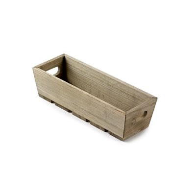 TR241 Wooden tray with slatted base