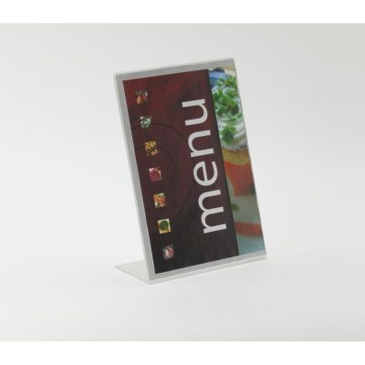 PS8002 - Freestanding Display Stand / Sign / Poster Holder: 1/3 A4 Port 1