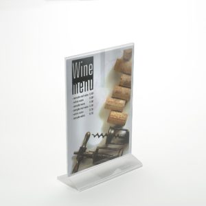 PS8009 - Double Sided Freestanding Poster Holder: A6 Port