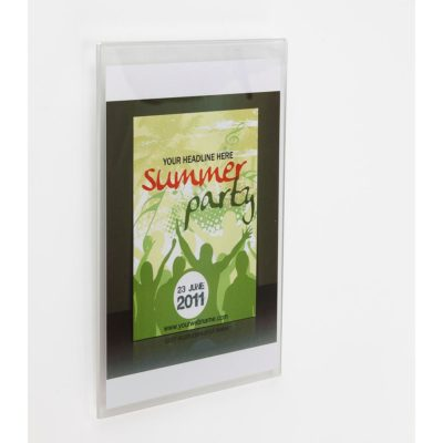 PS8024 - Wall Mounting Poster Holder: A4 Land 1