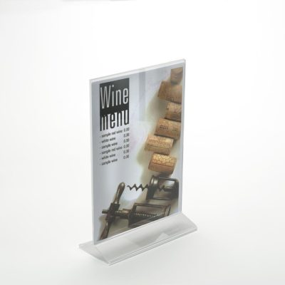 PS8032 - Double Sided Freestanding Poster Holder: A5 Port