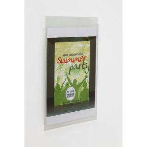 PS8060 - Wall Mounting/Hanging Poster Holders: 1/3 A4 Port