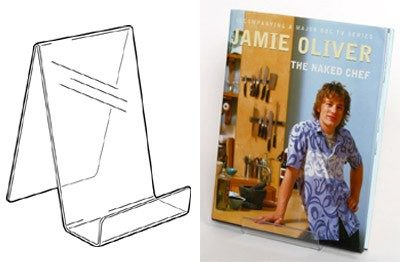 PS8272 - Book Stand: 100mm (W) x 200mm (H) 2
