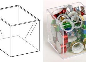 PS8468 - 480mm Clear Display Box