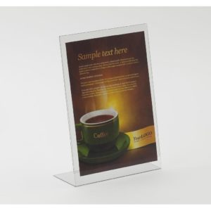 PS8526 - Freestanding Poster Holder - 1/3 A4 Portrait