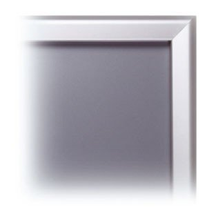 PS8704 - Silver Snap Frame with Mitred Corners: A5 1