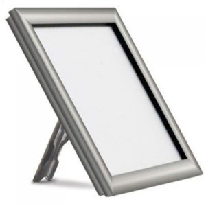 PS8716 - Silver Free Standing Snap Frame: A4