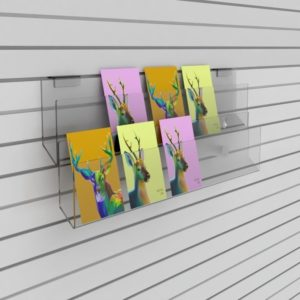 SL1019 Slatwall Card Display