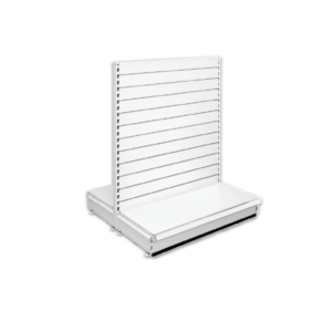 Double Sided Slatted Gondola Retail Shop Shelving - Jura