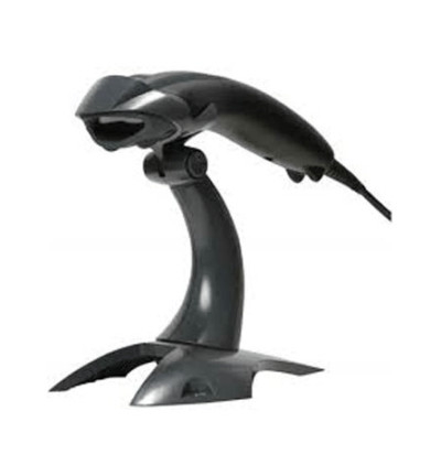 Honeywell Voyager 1200g Black USB Barcode Scanner Kit with Stand 1