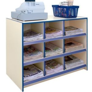 Choice Range News Counter - Ivory - L120cm