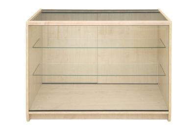 100 Series Full Vision Glass Display Counter