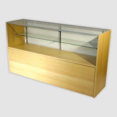 400 Series SCJ4M - Jewellery Display Counter - L120cm - Maple
