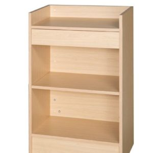 400 Series SCRCM - Till Block with Drawer - Maple