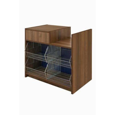 500SERIES TILL WITH BASKET WELL AND CRISP DISPLAY - 1000mm Wide.