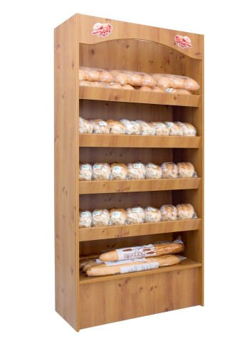 700 Series Bakery Display Stand-Cream