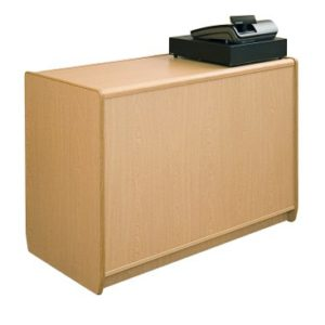700 Series Cash & Wrap Counter L120cm - Ash