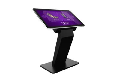 """43"""" PCAP Touch Screen Kiosk with Dual OS - TAO43F 1"""