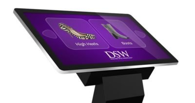 """43"""" PCAP Touch Screen Kiosk with Dual OS - TAO43F 2"""
