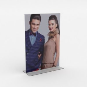 PS8040 - Double Sided Freestanding Poster Holder