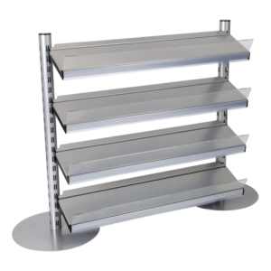 Q50i Queue Merchandising Solution - 4 Shelves