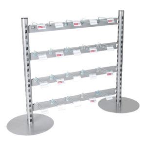 Q50i Queue Merchandising Solution - Hooks for Hanging
