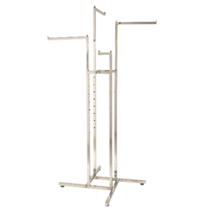 R101 - 4 Way Clothes Rail in Chrome