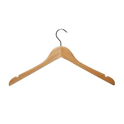 R1012 R1013 Wooden Shaped Tops Hanger