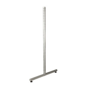 R1366 R1367 R1368 Round Twin Slot Upright with T Legs
