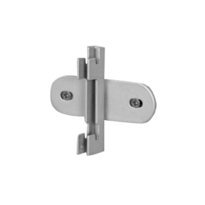 R1371 Round Twin Slot Upright Wall Fixing