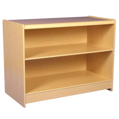 RE1502 R1504 Sales Shop Counter - Maple - Rear View