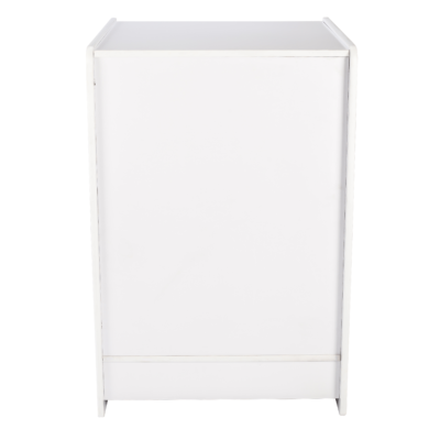 R1533A - TilR1533A - Till Block with Lock - White - Front Viewl Block with Lock - White