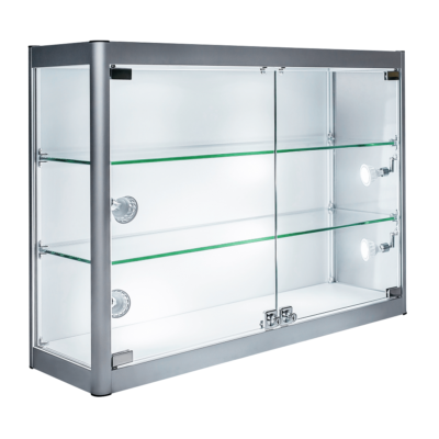 R1557 Wall Mounted Showcase Display Cabinet