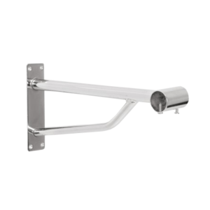 R157 and R157A Projection Bracket for round chrome tube