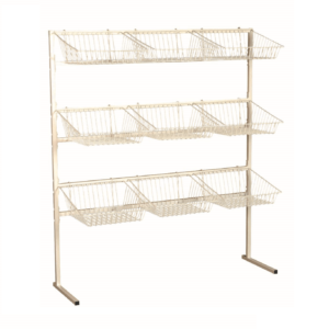 R1623 - 3 Tier Display Stand - 9 Basket Unit