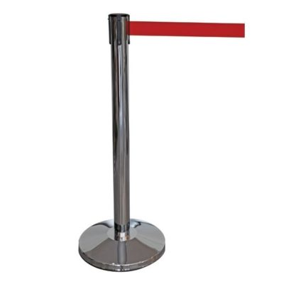 R203 Red Retractable Barrier