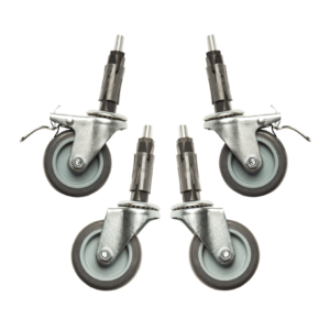 R3 Wheel Set for Heavy Duty and Reinforced Clothes Rails